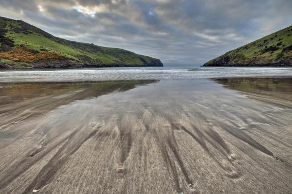 Colin Monteath - Sand Patterns At Dawn, Otanerito