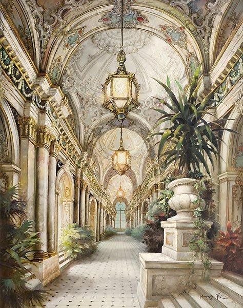 Palace Interior Gallery Wrap