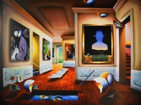 Ferjo - Interior With Magritte