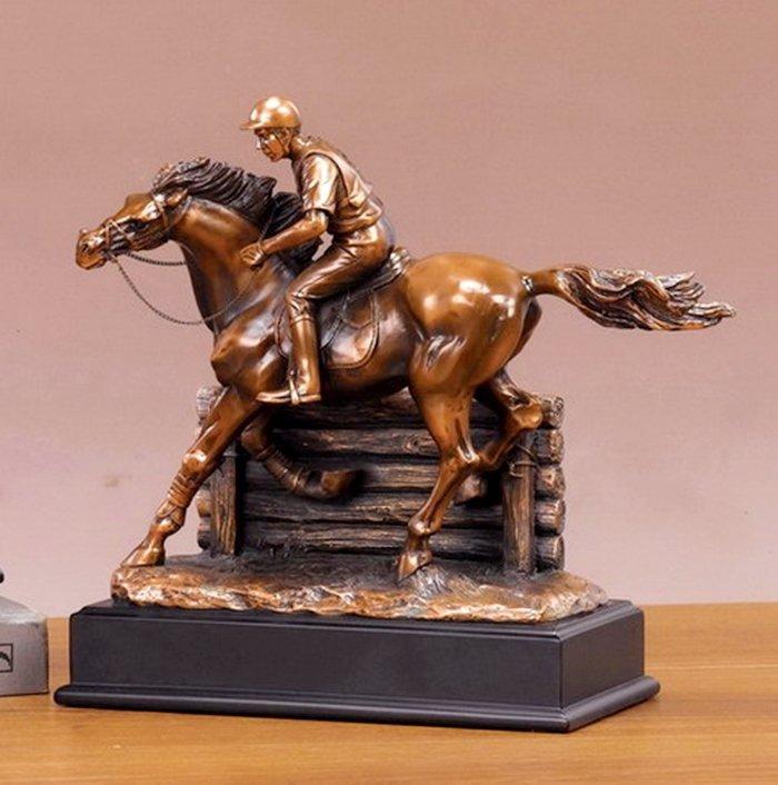 Bronze Jockey