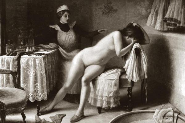 Vintage Nudes - Crying Nude