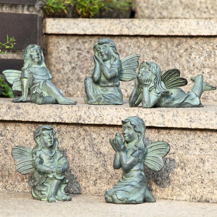 Set of Garden Fairies
