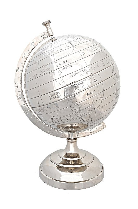 Alum Globe 13 Inches