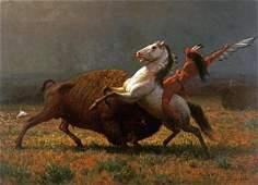 Albert Bierstadt - The Last Of The Buffalo
