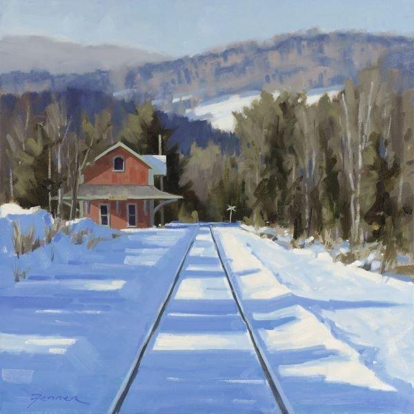 Charles Fenner Ball.  WinterCrossing