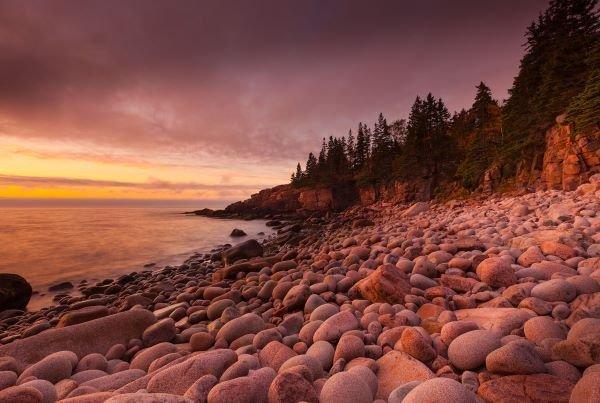 Michael Hudson.  Morning, Monument Cove