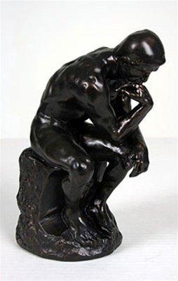 "Thinker After Rodin - 10"""