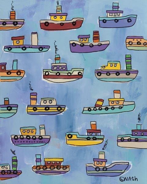 Brian Nash.  Tugboats