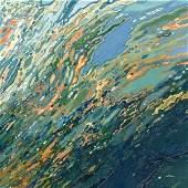 Margaret Juul. Blue Ocean Sunset