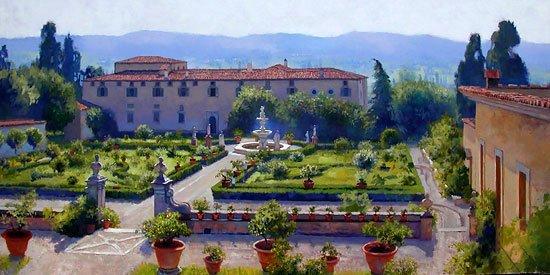 June Carey - Villa di Castello