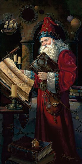 Dean Morrissey - Solarus the Wizard