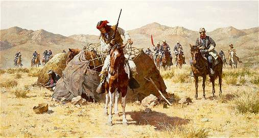 Howard Terpning - The Second Geronimo Campaign