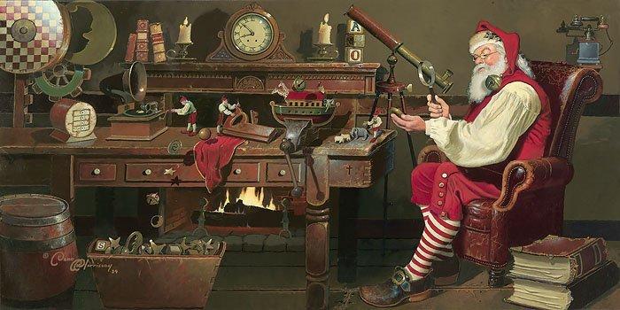 Dean Morrissey - St. Nicholas: Work Day´s End