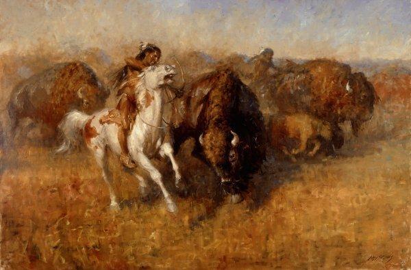 Andy Thomas - Buffalo Hunt