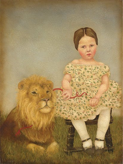Emily McPhie - Serena and Her Lion