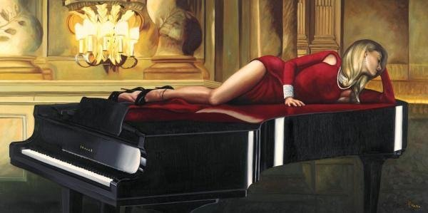 Pierre Benson - Piano Lady