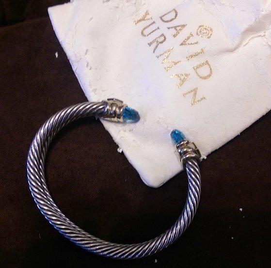 David Yurman 3 pc Set Bracelet, Earrings and Pendant