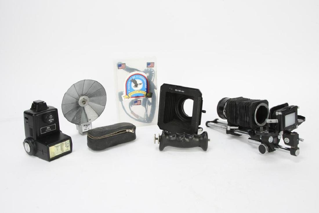 LOT OF CAMERA ACCESSORIES