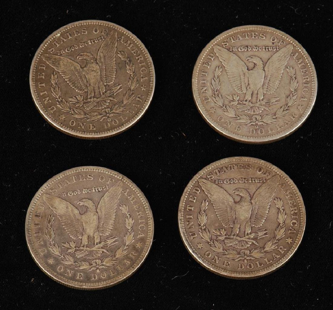 (7) MORGAN SILVER DOLLARS 1879-1900 - 2