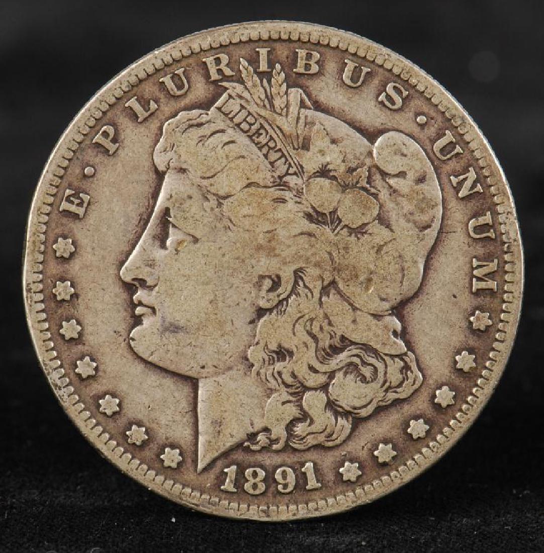 (7) MORGAN SILVER DOLLARS 1879-1900 - 4