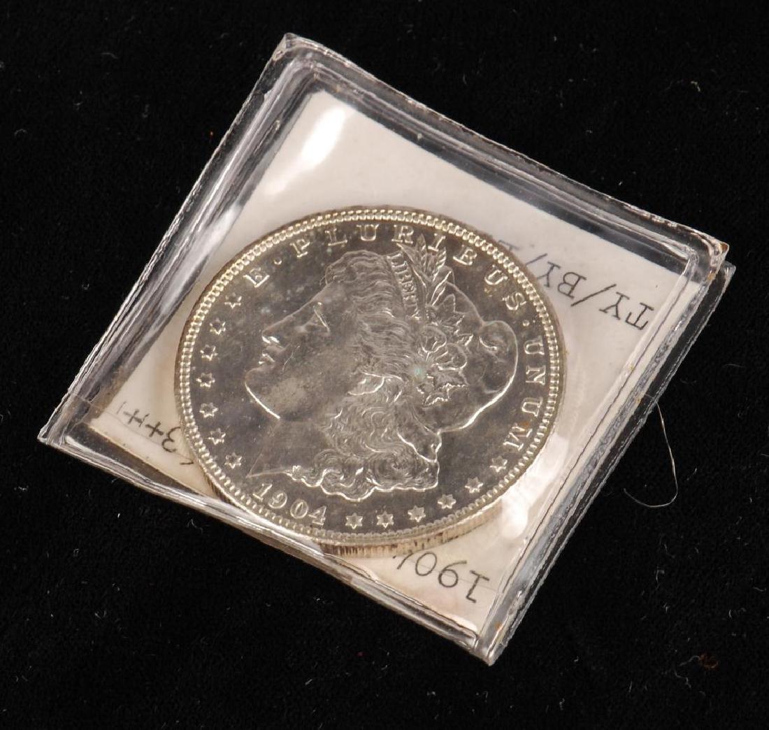 MORGAN SILVER DOLLAR 1904-O - 3