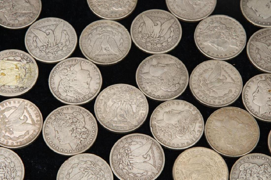 (42) MORGAN DOLLARS FOR THE 1880'S - 4