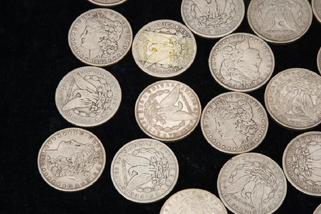 (42) MORGAN DOLLARS FOR THE 1880'S - 5