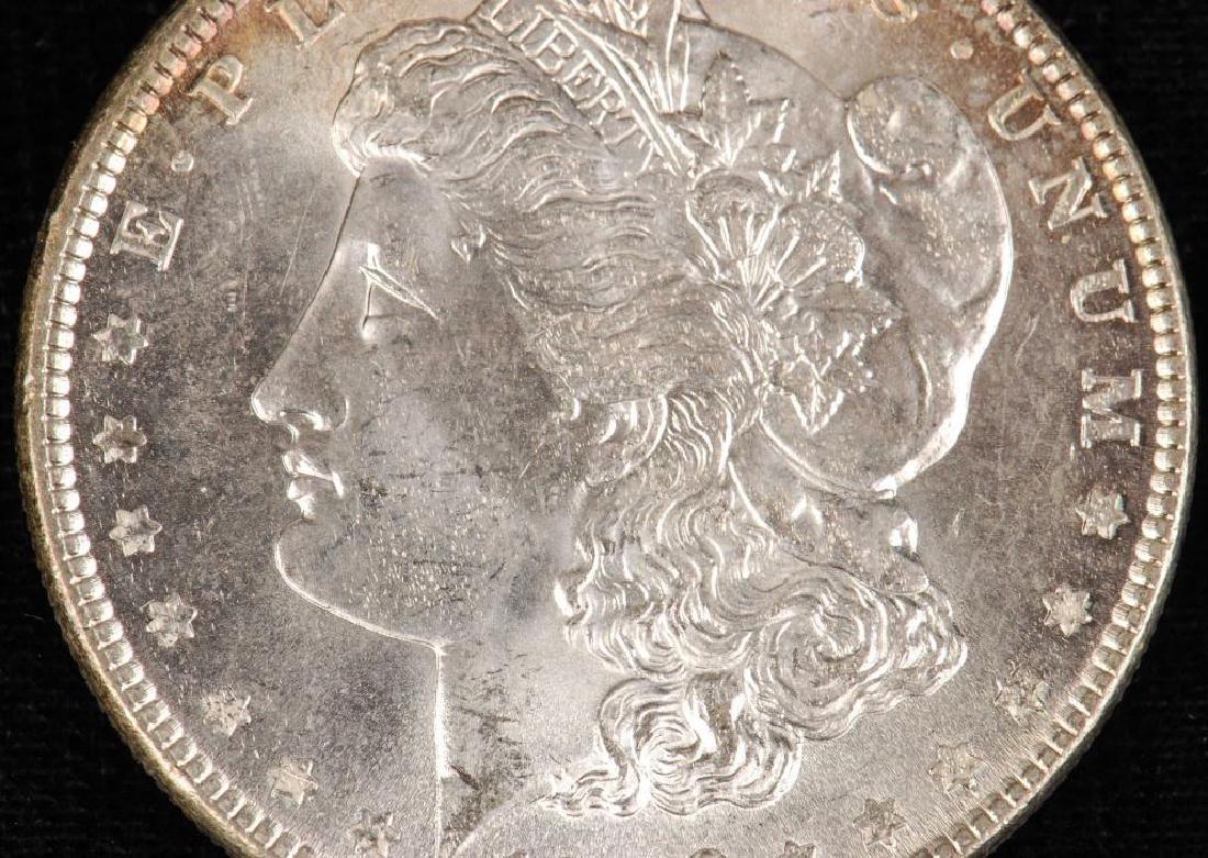 (3) MORGAN SILVER DOLLARS 1883-O and 1886 - 3