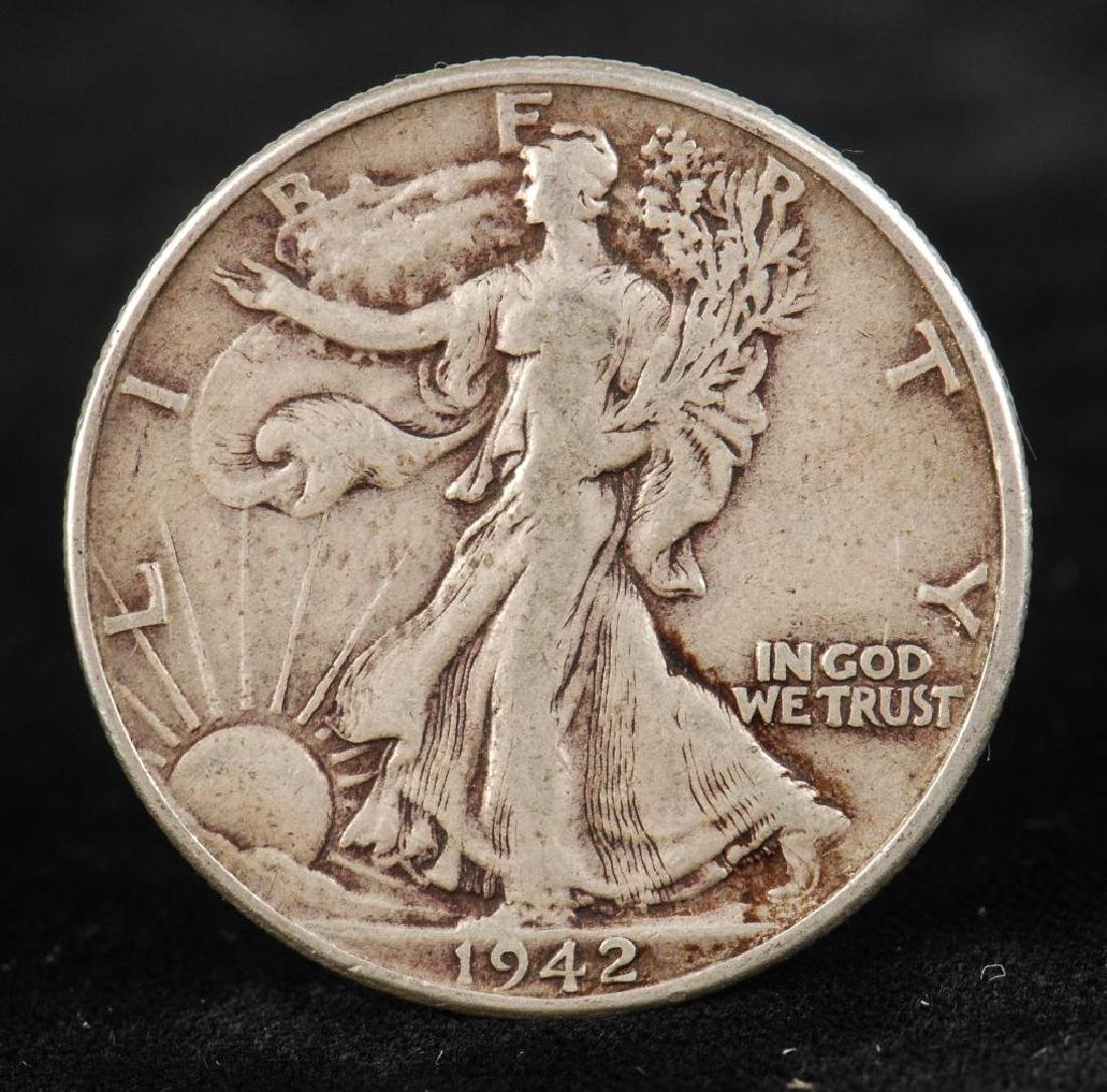 (12) WALKING LIBERTY HALF DOLLARS 1930's-1940's - 2