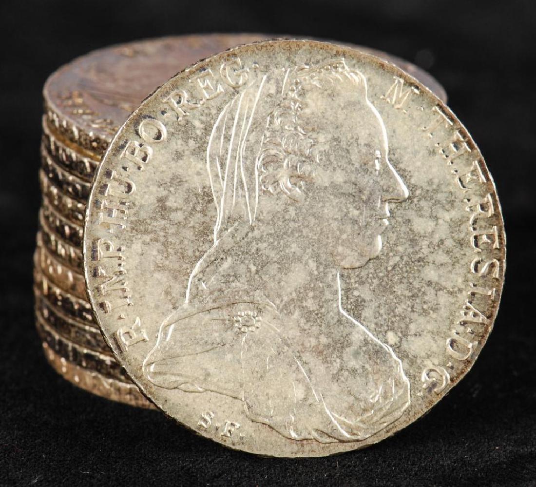 (12) REPRODUCTION MARIA THERESA THALLER 1780 COINS - 2