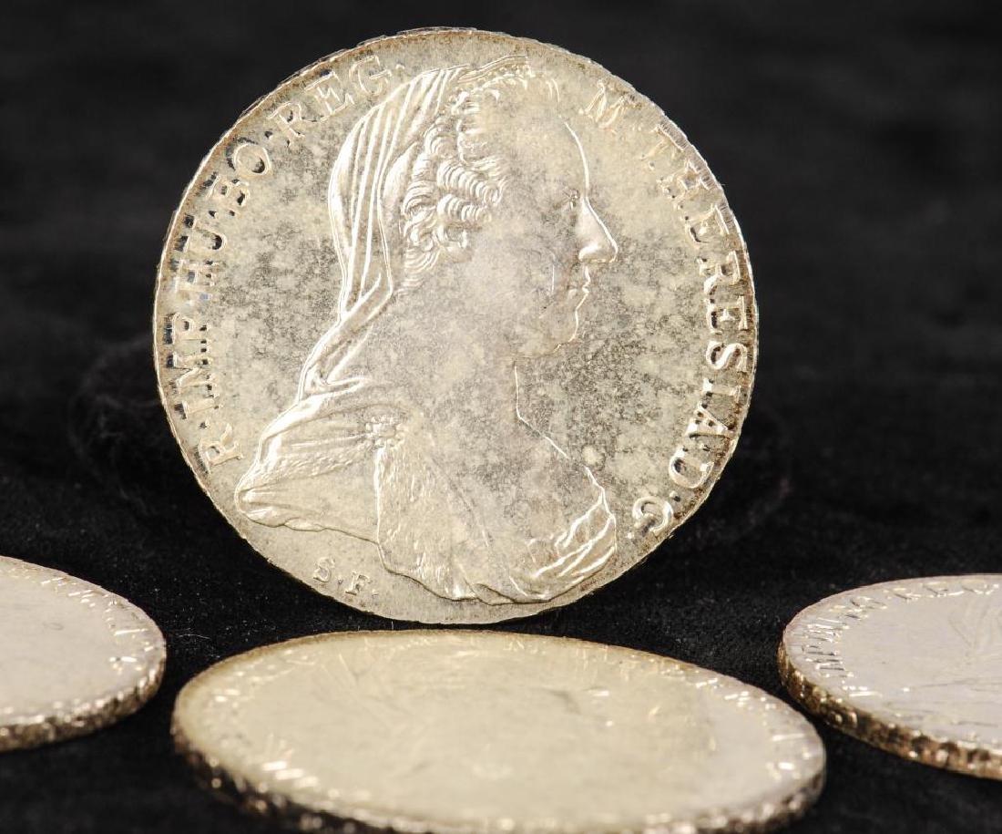 (12) REPRODUCTION MARIA THERESA THALLER 1780 COINS - 3