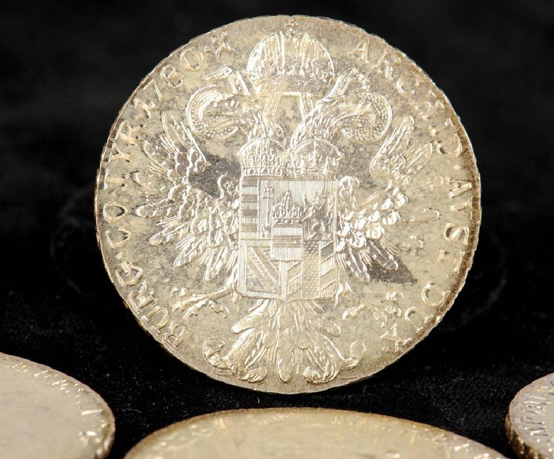 (12) REPRODUCTION MARIA THERESA THALLER 1780 COINS - 4