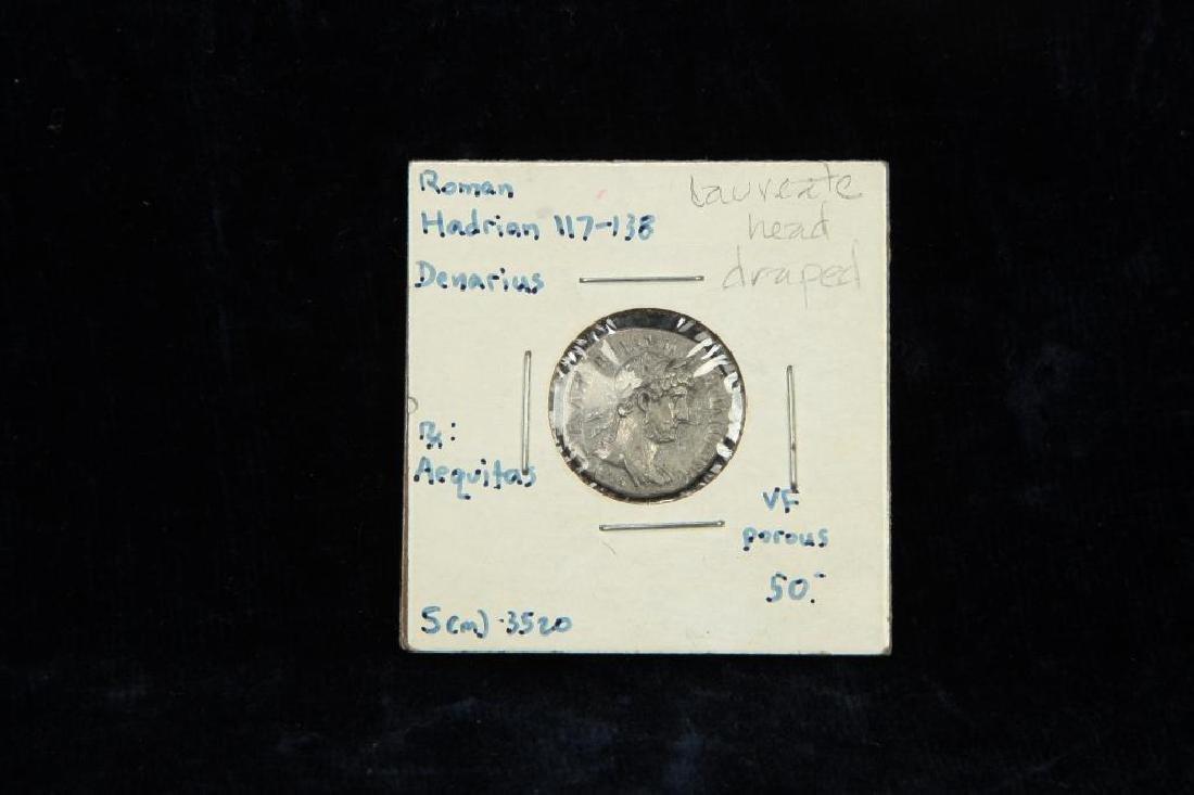 (2) ANCIENT ROMAN COINS - 2