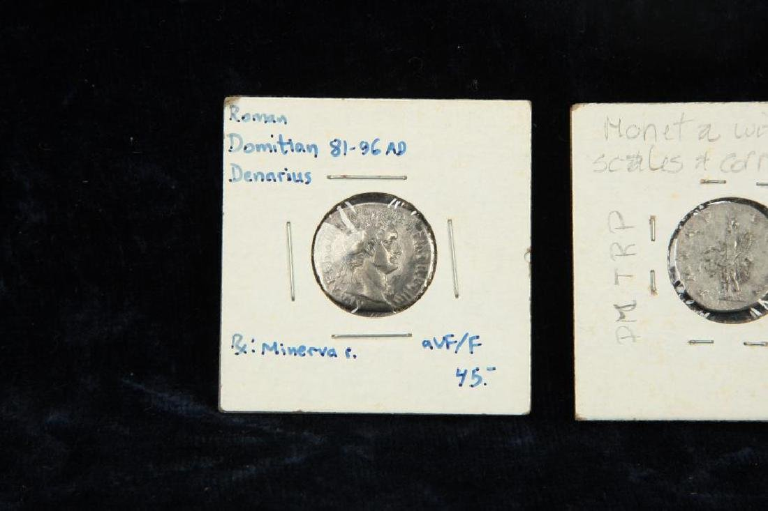 (2) ANCIENT ROMAN COINS - 5