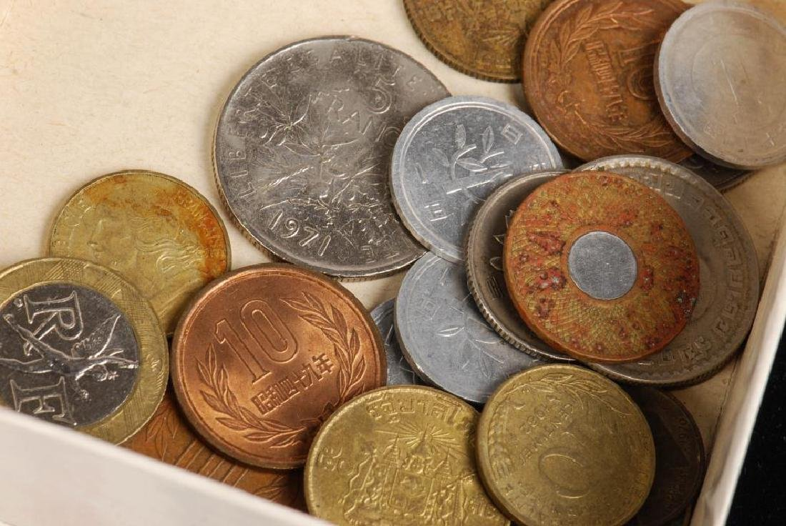 SMALL LOT OF GOLD, FORIEGN COINS, CURRENCY ETC - 4