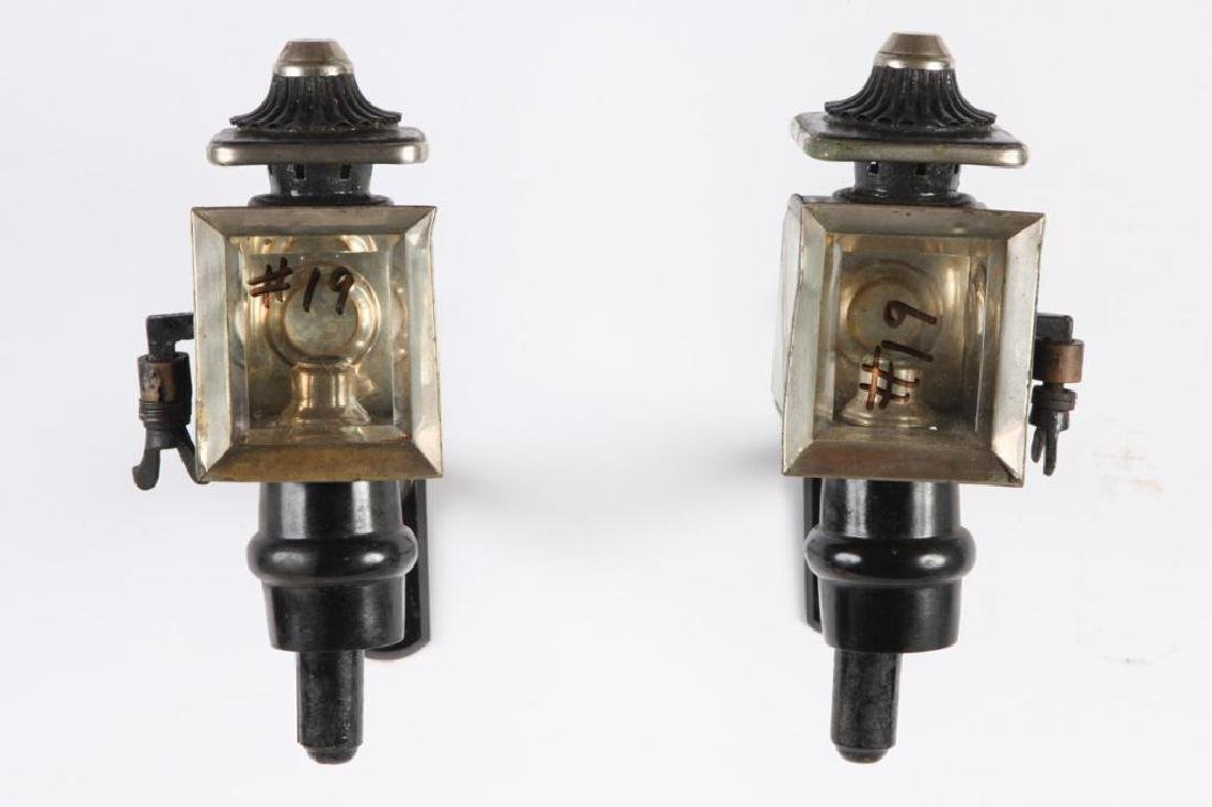 PAIR OF PONY CARRIAGE LAMPS