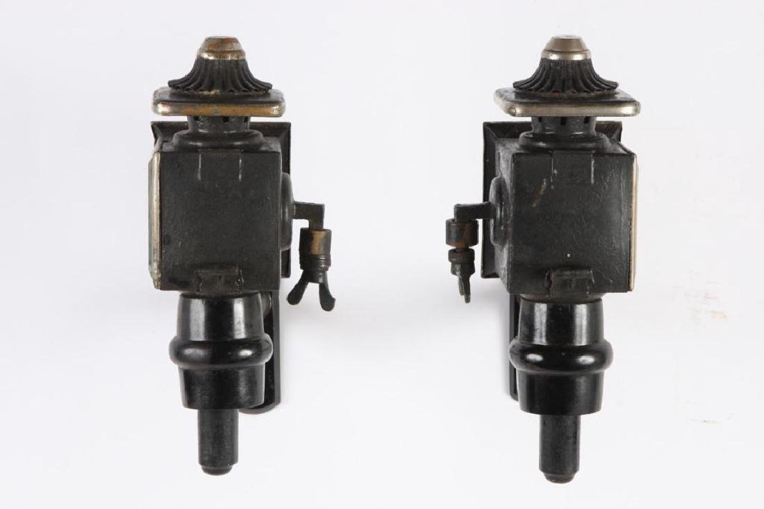 PAIR OF PONY CARRIAGE LAMPS - 2