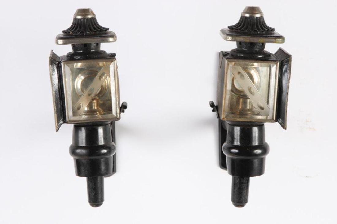 PAIR OF PONY CARRIAGE LAMPS - 3