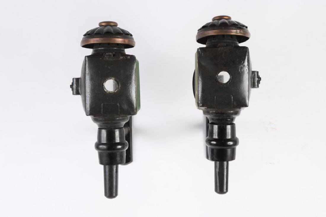 PAIR OF FANCY SURRY LAMPS - 2