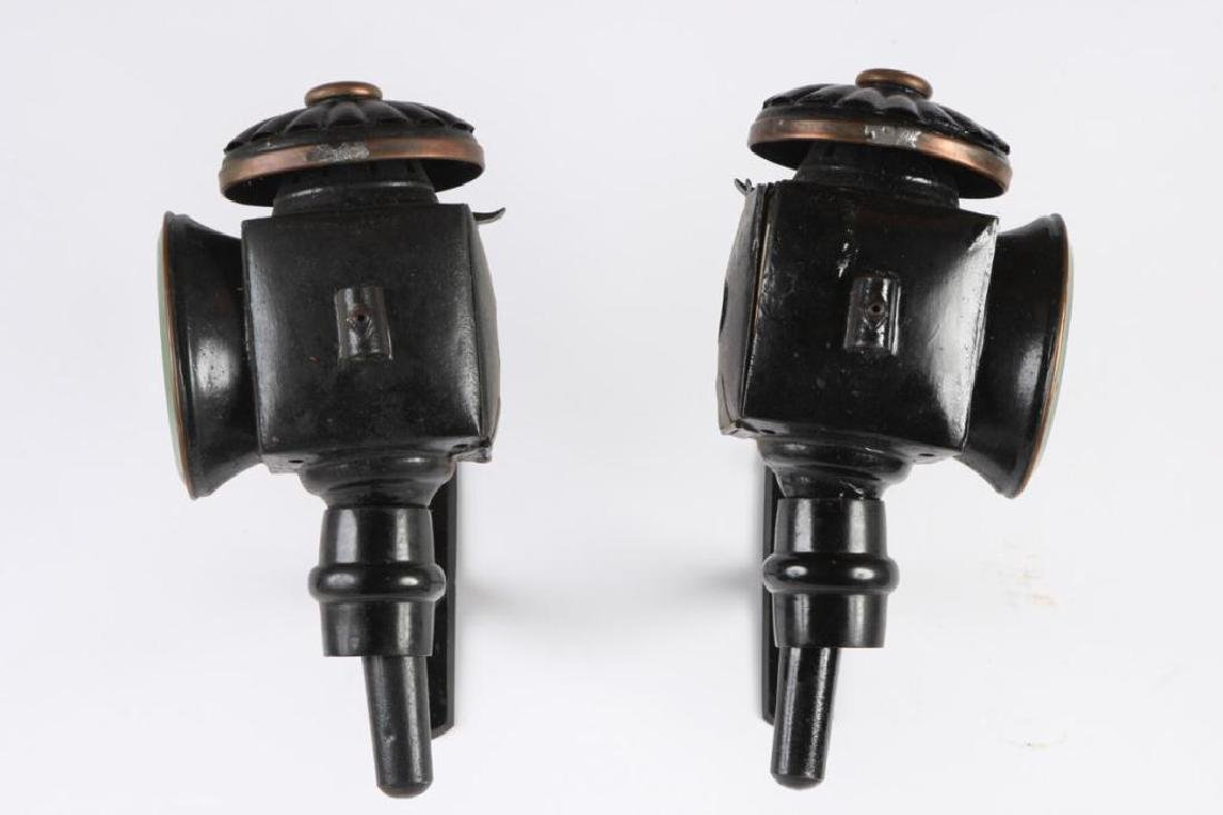 PAIR OF FANCY SURRY LAMPS - 3