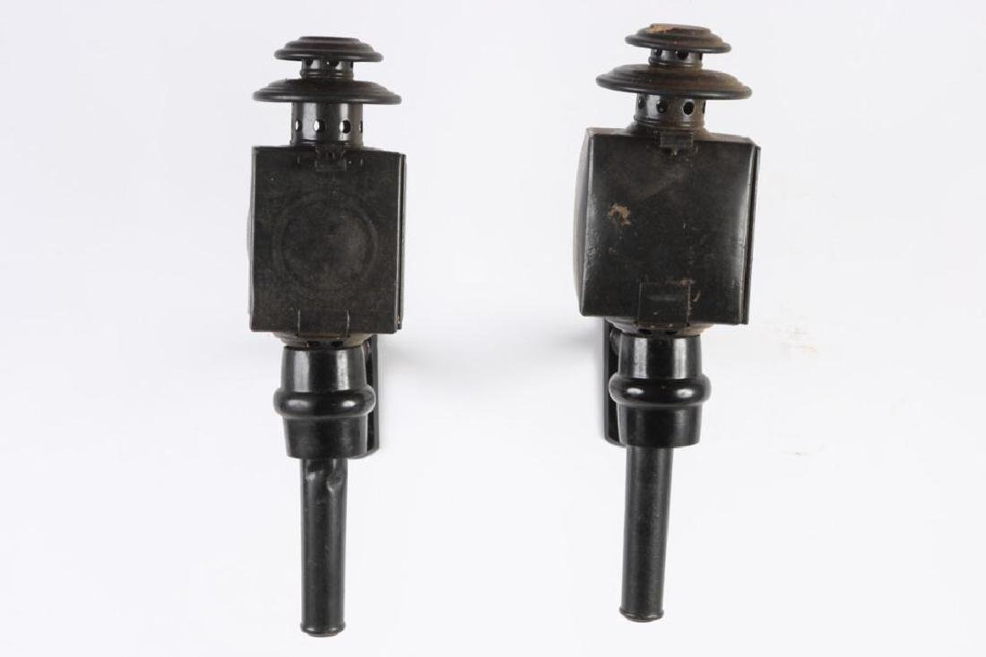 PAIR OF BASIC CARRIAGE LAMPS - 2