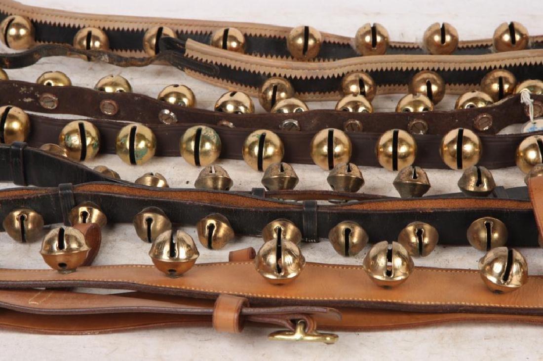 (4) BEAUTIFUL (20th c) SLEIGH BELLS - 4