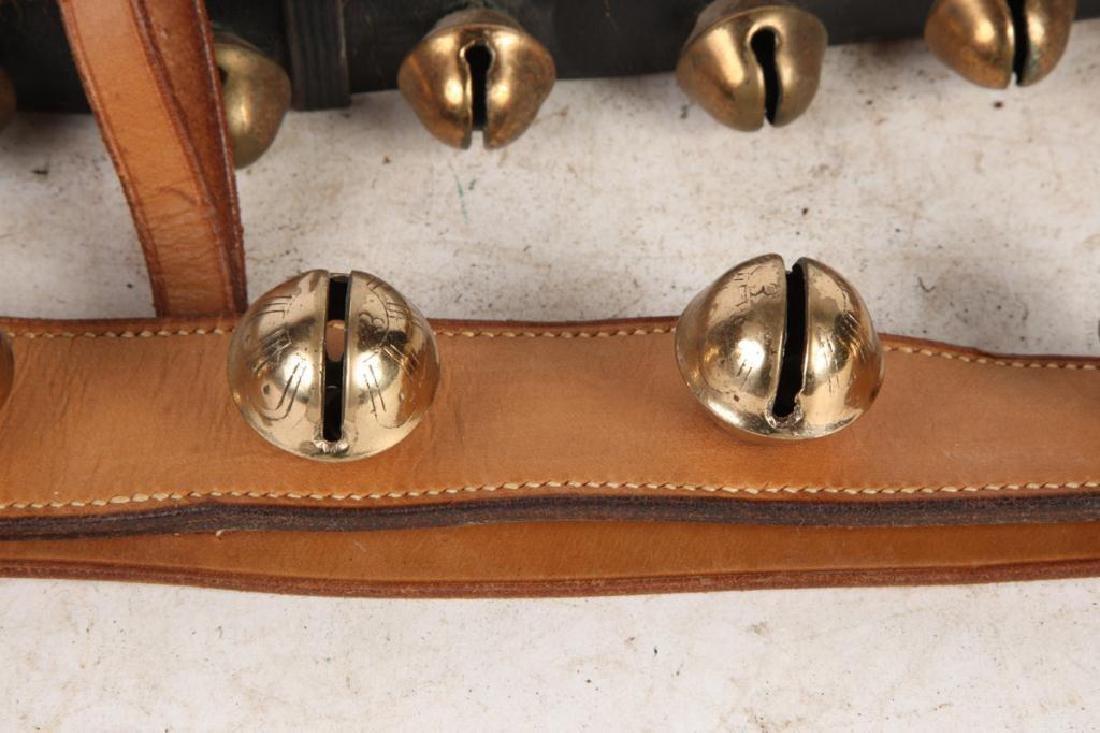 (4) BEAUTIFUL (20th c) SLEIGH BELLS - 5