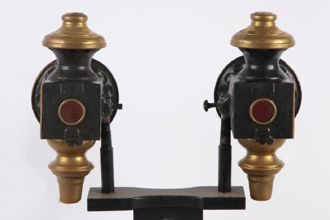 PAIR OF BUGGY LAMPS - 2