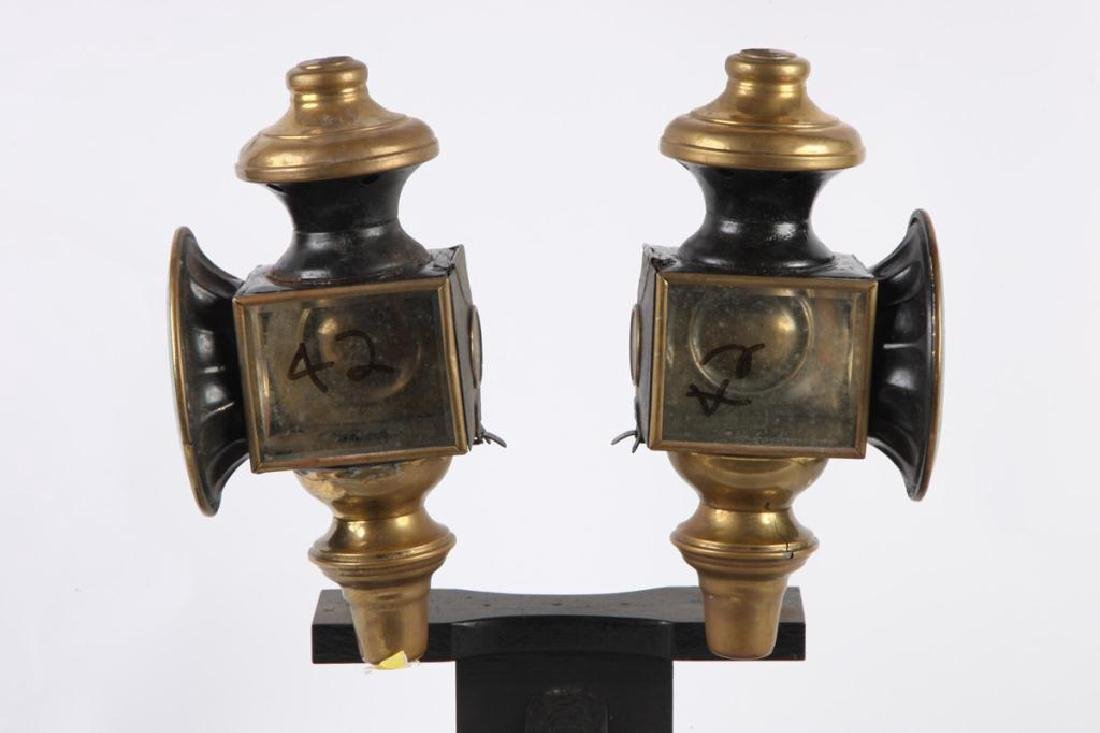PAIR OF BUGGY LAMPS - 3