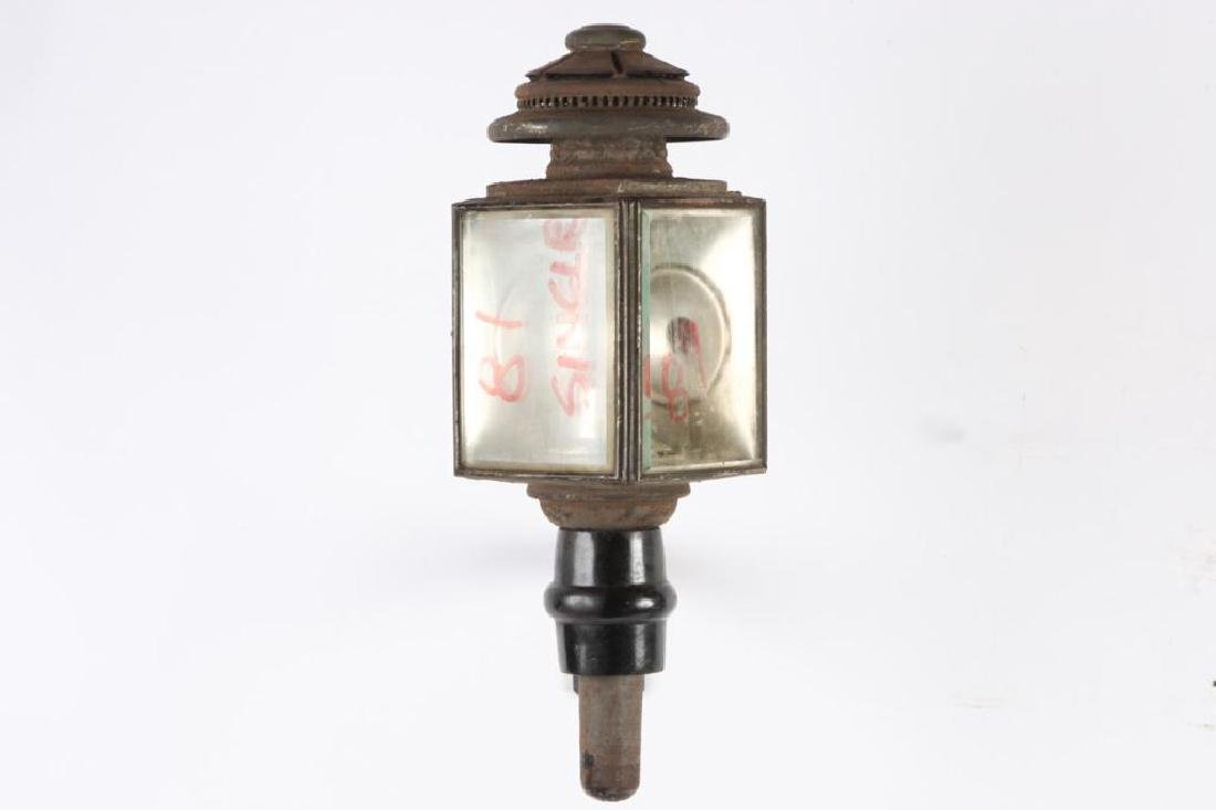 WALDRON CO. SINGLE CARRIAGE LAMP - 5