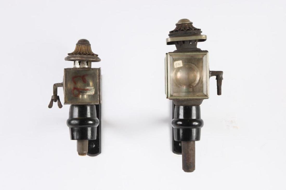 SMALL & MEDIUM PONY AND RADIATOR CARRIAGE LAMPS