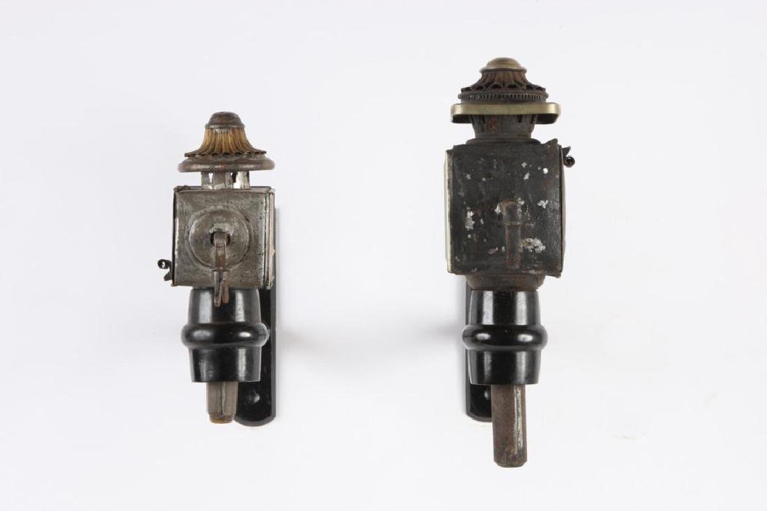 SMALL & MEDIUM PONY AND RADIATOR CARRIAGE LAMPS - 4