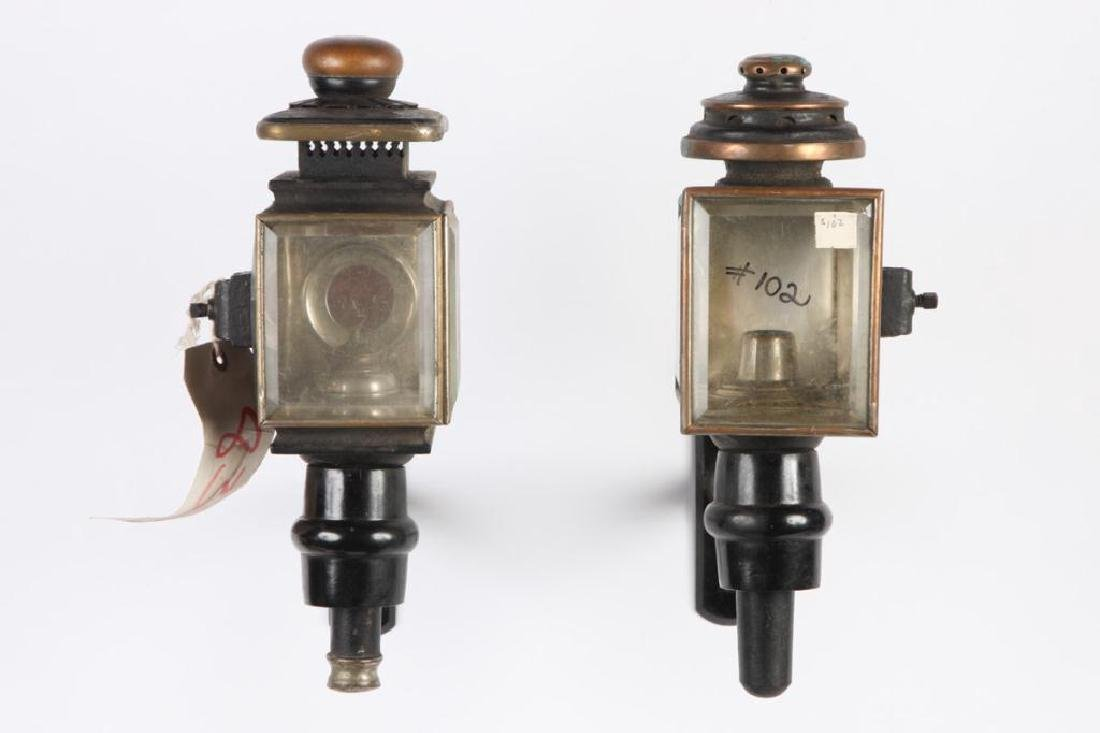 (4) CARRIAGE LAMPS