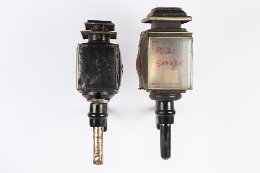 (4) CARRIAGE LAMPS - 3